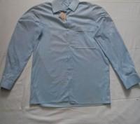 Новая рубашка на мальчика подростка 13-15 лет,размер 46,ворот 39,рост 170-176,10. Запорожье, Запорожская область. фото 2