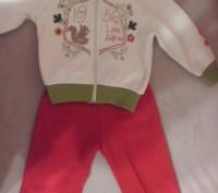 Мягкий демисезонный костюм микрофлисовый Италия. Запорожье. фото 1