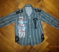 продам стильну сорочку на хлопчика 3-4-5 років в гарному стані.. Соснівка, Львівська область. фото 2