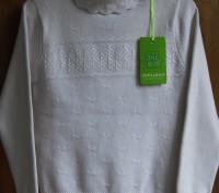Прекрасного качества белые свитера для девочки фирмы MANY&MANY Китай.Распродажа . Запорожье, Запорожская область. фото 3