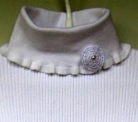 Прекрасного качества белые свитера для девочки фирмы MANY&MANY Китай.Распродажа . Запорожье, Запорожская область. фото 7