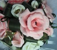 Конфетный букет Топиарий  - это букет сюрприз,в каждом цветочке конфета (шоколад. Запорожье, Запорожская область. фото 4