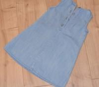 Джинсовое платье Next на 2-4 годика. Состояние б/у, без дефектов. Заявлено на ро. Кривой Рог, Днепропетровская область. фото 3