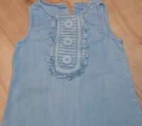 Джинсовое платье Next на 2-4 годика. Состояние б/у, без дефектов. Заявлено на ро. Кривой Рог, Днепропетровская область. фото 4
