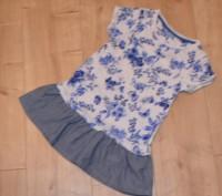 Платье Next ( I LOVE NEXT) на девочку на 3-4 года. Состояние б/у, БЕЗ ДЕФЕКТОВ И. Кривий Ріг, Дніпропетровська область. фото 2