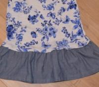 Платье Next ( I LOVE NEXT) на девочку на 3-4 года. Состояние б/у, БЕЗ ДЕФЕКТОВ И. Кривой Рог, Днепропетровская область. фото 6