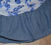 Платье Next ( I LOVE NEXT) на девочку на 3-4 года. Состояние б/у, БЕЗ ДЕФЕКТОВ И. Кривой Рог, Днепропетровская область. фото 5