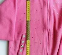 """Яркая розовая кофта """"Regatta"""" для девочки в стразах. Состояние новой.  Замочек н. Запорожье, Запорожская область. фото 4"""