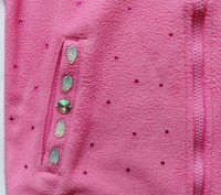 """Яркая розовая кофта """"Regatta"""" для девочки в стразах. Состояние новой.  Замочек н. Запорожье, Запорожская область. фото 3"""