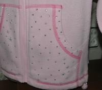 """Светло - розовая теплая кофта """"JPW JUNIOR"""". Материал мягкий, приятный к телу. На. Запорожье, Запорожская область. фото 4"""