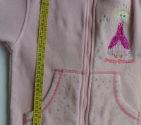 """Светло - розовая теплая кофта """"JPW JUNIOR"""". Материал мягкий, приятный к телу. На. Запорожье, Запорожская область. фото 6"""