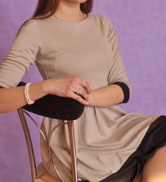Платье бежевое Gepur. Одесса. фото 1