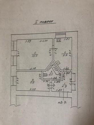 Состояние квартиры: Пол — ламинат Стены — обои Потолки — ровные  В квартире. Одесса, Одесская область. фото 7