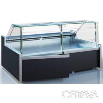 Холодильная витрина б/у Миссури ПВХС Технохолод длинна 2 метра