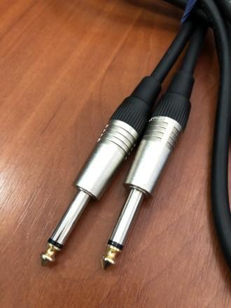 Качественный Инструментальный кабель длинною 3 метра. Необычайно надежный и изно. Чернигов, Черниговская область. фото 3
