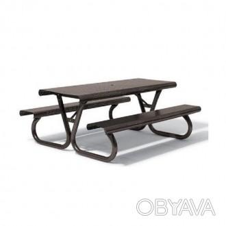 Столик для пикника для загородного дома, дачи, базы отдыха, парка. Имеет антиван. Киев, Киевская область. фото 1