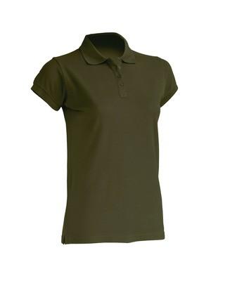 Женская футболка-поло  100% хлопок цвет хаки в наличие. Киев. фото 1