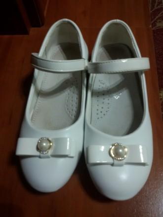 Туфельки белые 32 размер. Київ. фото 1