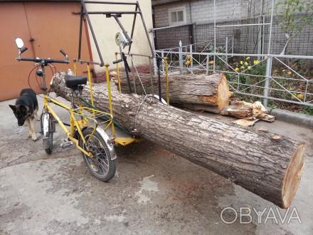 Велосипед грузовой. Ремонт вело-мото колес.