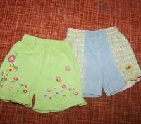 Замечательные шортики - подойдут на возраст от года до трех. Ярко-салатовые - то. Запоріжжя, Запорізька область. фото 10