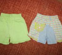 Замечательные шортики - подойдут на возраст от года до трех. Ярко-салатовые - то. Запоріжжя, Запорізька область. фото 3