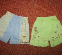 Замечательные шортики - подойдут на возраст от года до трех. Ярко-салатовые - то. Запоріжжя, Запорізька область. фото 2