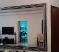 Зеркала в рамах для офисов, квартир и других помещений с установкой.. Киев. фото 1