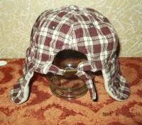 Продам утепленную кепку на мальчика 1-2 года, верх - хлопок, внутри - флис. Сост. Чернігів, Чернігівська область. фото 4