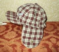 Продам утепленную кепку на мальчика 1-2 года, верх - хлопок, внутри - флис. Сост. Чернигов, Черниговская область. фото 3