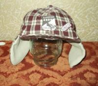Продам утепленную кепку на мальчика 1-2 года, верх - хлопок, внутри - флис. Сост. Чернигов, Черниговская область. фото 2