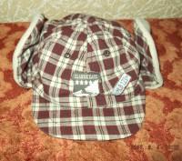 Продам утепленную кепку на мальчика 1-2 года, верх - хлопок, внутри - флис. Сост. Чернигов, Черниговская область. фото 5