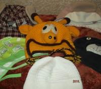 Продам утепленную кепку на мальчика 1-2 года, верх - хлопок, внутри - флис. Сост. Чернігів, Чернігівська область. фото 7