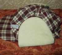 Продам утепленную кепку на мальчика 1-2 года, верх - хлопок, внутри - флис. Сост. Чернигов, Черниговская область. фото 6
