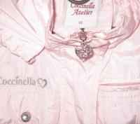Куртка-ветровка для девочки в отличном состоянии с капюшоном. Ткань-плащевка. Из. Житомир, Житомирская область. фото 3