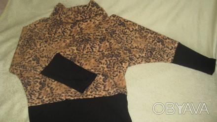 Кофта для девочки. Ткань -тонкая шерсть. Модель очень удобная. Производство -Тур. Житомир, Житомирская область. фото 1