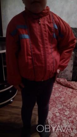 Куртка для мальчика демисезонная, в отличном состоянии на 2-3 года. Длина куртки. Чернігів, Чернігівська область. фото 1