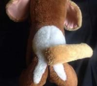 """Продам мягкую игрушку """"Хмурый бульдожек"""".Состояние б-у отличное,размер 37х14 см.. Запорожье, Запорожская область. фото 4"""