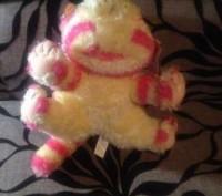 """Продам мягкую игрушку """"Розовый котёнок"""".Состояние новое,размер 25х15 см.. Запорожье, Запорожская область. фото 5"""