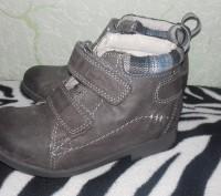 Ботинки кожаные, в хорошем состоянии. Стелька 15,5 см.. Сумы, Сумская область. фото 3