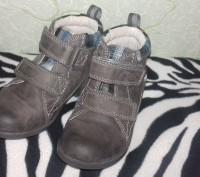 Ботинки кожаные, в хорошем состоянии. Стелька 15,5 см.. Сумы, Сумская область. фото 2
