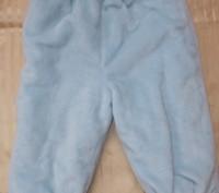 Теплые и очень мягенькие штанишки, на резинке. В идеальном состоянии. ПОТ 21-30. Полонне, Хмельницька область. фото 2