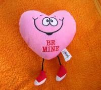 Мягкая игрушка (сердечко которое хохочет) Размер:Ширина и высота 14 см. толщина . Киев, Киевская область. фото 2
