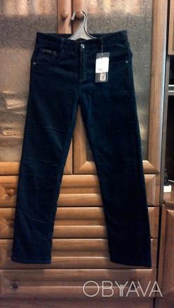 новые вельветовые штаны на флизе с этикеткой a-yugi производство турции ,тёмно-с. Чернигов, Черниговская область. фото 1