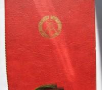 Продам юбилейную марку ГДР: 30 jahre kampfgruppen der arbeiterklasse. 30 лет бое. Харьков, Харьковская область. фото 3