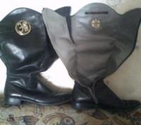 Сапоги кожаные. Запорожье. фото 1