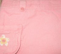 Юбка вельветовая для девочки на подкладке в отличном состоянии. Цвет -розовый. С. Житомир, Житомирская область. фото 3