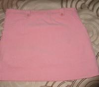 Юбка вельветовая для девочки на подкладке в отличном состоянии. Цвет -розовый. С. Житомир, Житомирская область. фото 4