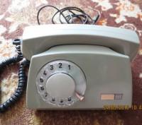 Телефон дисковый. Запорожье. фото 1