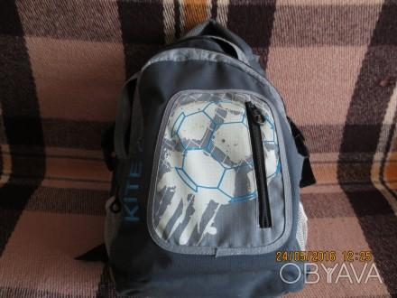 Рюкзак подростковый для школы или занятия спортом фирмы KITE б\у в отличном сост. Запорожье, Запорожская область. фото 1