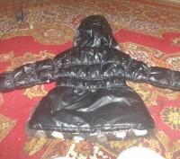 Продам б/у курточку на девочку в хорошем состоянии. Длина по спинке 42см, рукав . Запоріжжя, Запорізька область. фото 4